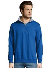 Mens Sweat Shirt Scott 1/4 Zip