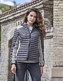Ladies` Hooded Outdoor Crossover Jacket